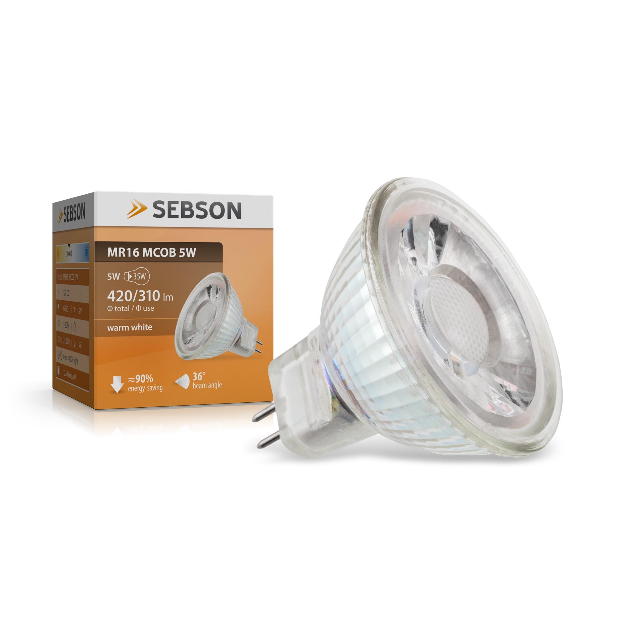 MR16 MCOB LED Lampe 5W 12V