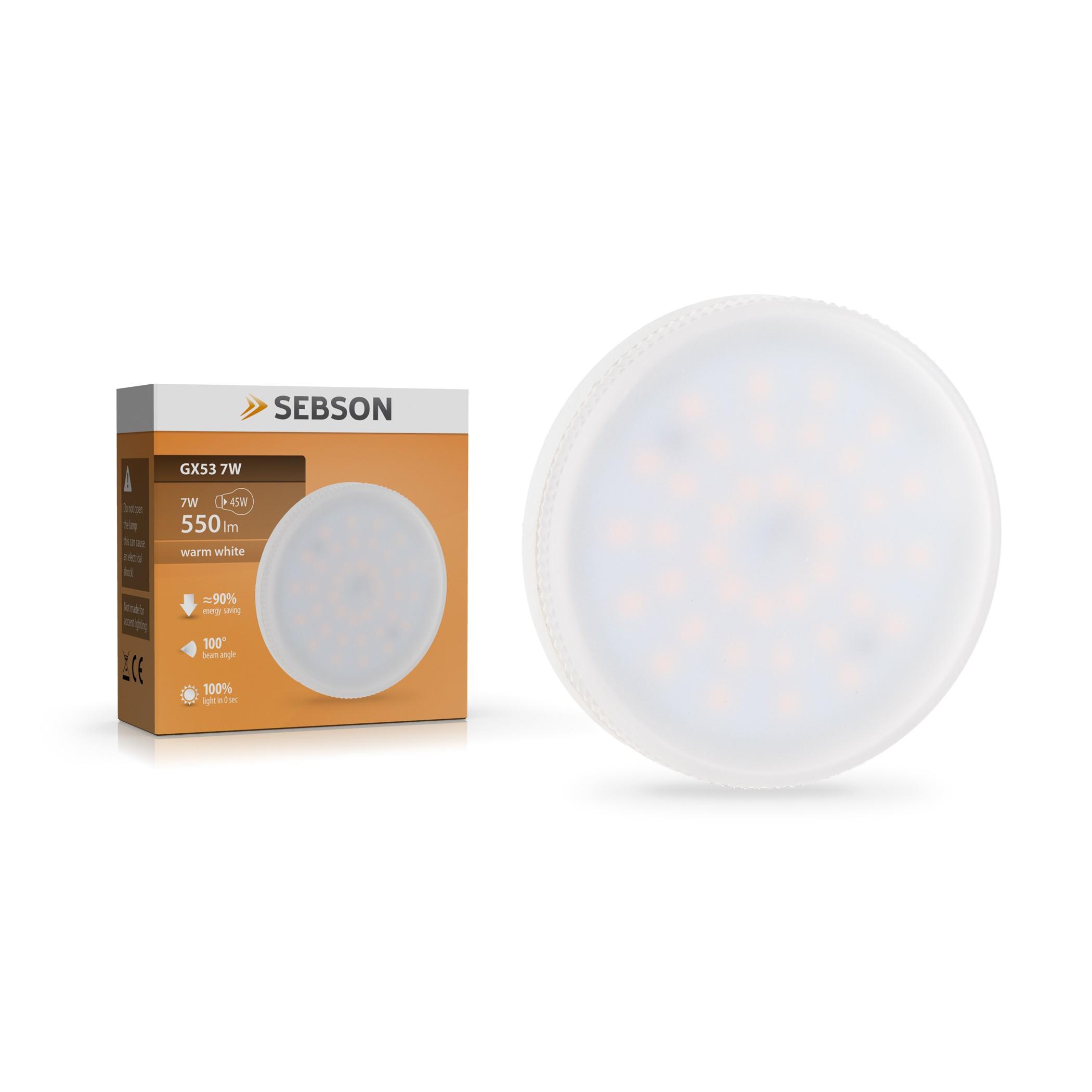 GX53 LED Lampe 7W