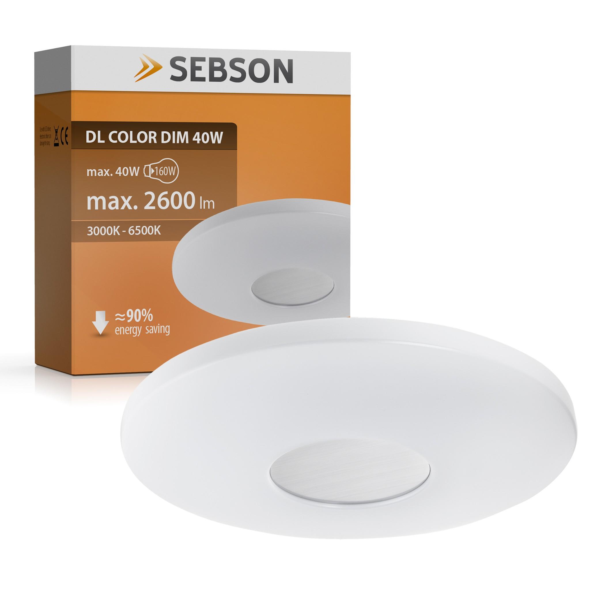LED Deckenleuchte 40W dimmbar