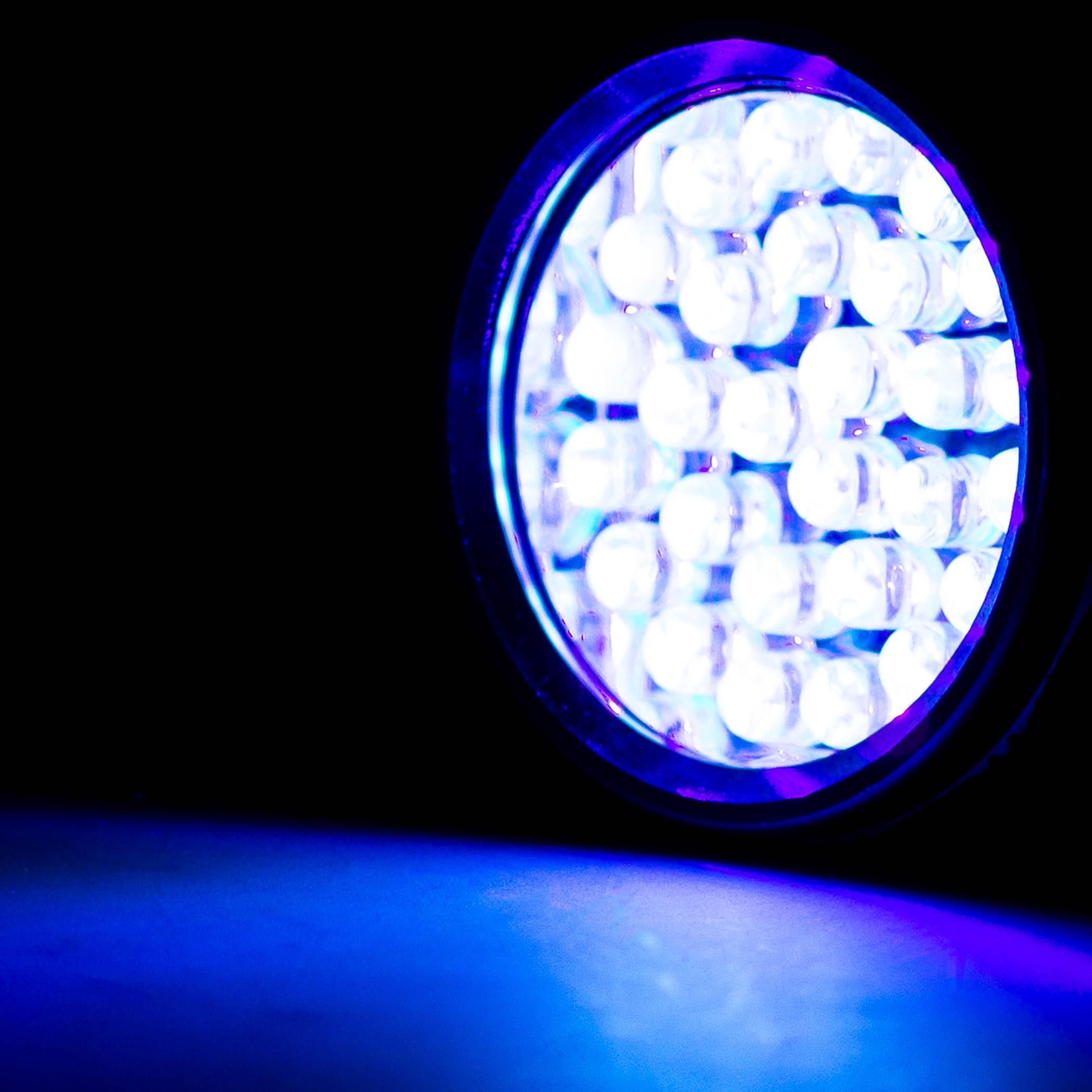 LED UV Taschenlampe, Schwarzlicht, Ultraviolett, Prüfgerät ...