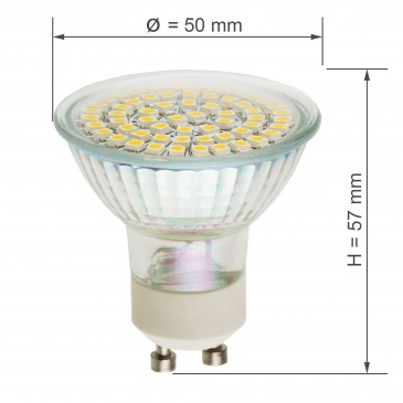 LED GU10 SMD5060 WARM WHITE – Bild 3