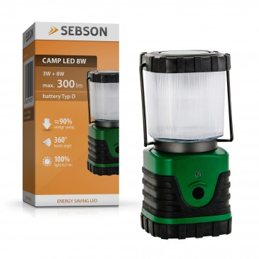 Campinglampe CAMP LED 8W